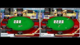 Poker Gameplay and Analysis – No Limit Holdem – 9 max Multitable $2/$4 Commentary