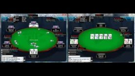 Poker Gameplay and Analysis – No Limit Holdem – 6 max Multitable $1/$2 Commentary