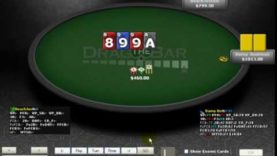 Poker Gameplay and Analysis – No Limit Holdem – Heads Up Table $5/$10 Commentary Part 01