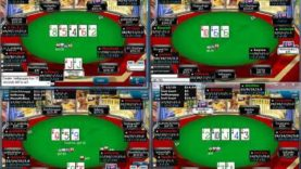 Poker Gameplay and Analysis – No Limit Holdem – 9 max Multitable $1/$2 Commentary
