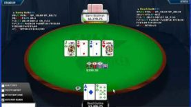 Poker Gameplay and Analysis – No Limit Holdem – Heads Up Table $5/$10 – Commentary Part 06