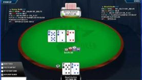 Poker Gameplay and Analysis – No Limit Holdem – Heads Up Table $5/$10 – Commentary Part 04