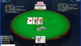 Poker Gameplay and Analysis – No Limit Holdem – Heads Up Table $5/$10 – Commentary Part 03